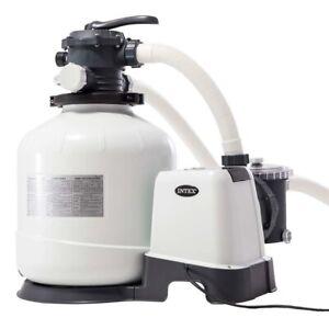 Pompa filtro a sabbia 28652 26652 Intex 12.000 l/h per piscina fuori terra mshop
