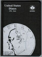 Uni-Safe United States US Dimes 10 Cents Coin Collection Album Folder 1996-Date