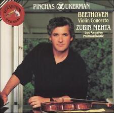 Beethoven: Violin Concerto (CD, RCA) Pichas Zukerman Zubin Mehta