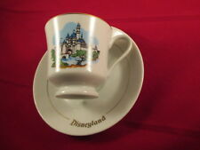 VINTAGE DISNEYLAND SOUVENIR CUP AND SAUCER MADE IN JAPAN