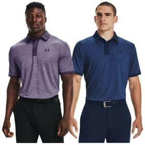 Under Armour Mens Playoff 2.0 Polo Shirt UA Golf Top Lightweight Moisture Wick