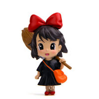 Studio Ghibli Kiki's Delivery Service Kiki Mini Resin Figure Figurine Model Toy
