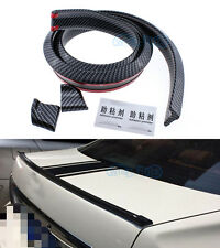 No Drilling Rear Empennage Trunk Boot Spoiler Wing Body Kit Trim For BMW E36 E46