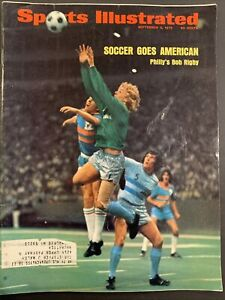 Sports Illustrated September 3, 1973 Philly's Bob Rigby Soccer Goes American