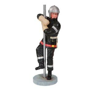 Feuerwehr Mann auf Feuerwehrstange 21cm
