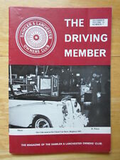 DAIMLER & LANCHESTER The Driving Member Owners Club Magazine Vol 16 No 7 1981
