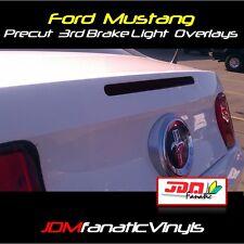 10-12 Mustang Smoked 3rd Brake Light Overlays TINT Vinyl PRECUT GT SVT Smoke Kit