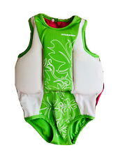 STEARNS Green Girl Swimsuit & Float Type 3  Toddler 30-50 Lb Coast Guard Approve