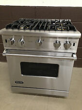 "Viking VGCC5304BSS 30"" Professional Gas Range Oven 4 Burner Stainless"