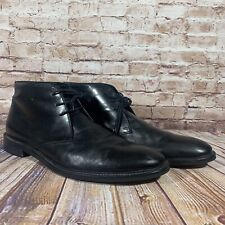 Gordon Rush Black Chukka Boots Mens Size 14 Weston Shoes Leather 102064