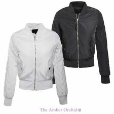 Brave Soul Polyester Bomber Coats & Jackets for Women