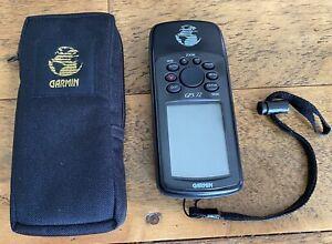 GARMIN GPS 72 Handheld Navigation Navigator WORKS GREAT Hunting Fishing Geocache