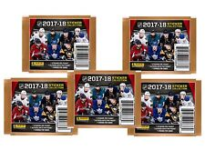 2017-18 Panini NHL Hockey Stickers, 5 Packs of 7 for 35 stickers