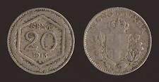 20 CENTESIMI 1918 ESAGONO - VITTORIO EMANUELE III