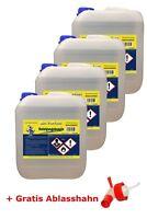 Reinigungsbenzin Leichtbenzin Waschbenzin Entfetter 4x5 L + Ablasshahn