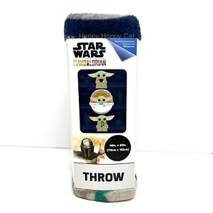 "Star Wars: The Mandalorian 'The Child' Baby Yoda 46"" x 60"" Plush Throw"