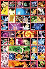 POKEMON Poster - POKEMON MOVES - New Pokemon gaming poster FP4273