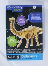 Discovery Kids Diplodocus Excavation Kit Dinosaur Home School Fossil Dig Science