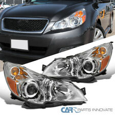 For 10-14 Subaru Legacy Outback Clear Projector Head Lamps Corner Signal Lights