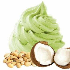 Kokos Pistazie Geschmack Frozen Joghurt Pulver 1:3, 0.333 kg