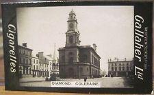 The Diamond COLERAINE Cigarette Card GALLAHER IRISH VIEWS 388 Northern Ireland