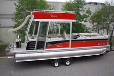 Scratch and dent -2785 Funship cruise pontoon boat with 150 and trailer