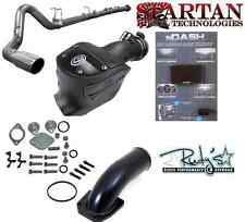"Patriot NDASH Tuner EGR IE DPF Delete SS 4"" Exhaust 08-10 Ford 6.4L Diesel S&B"