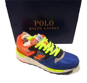 Polo Ralph Lauren Men's Multicolor P-Wing Trackster 100 Sneaker