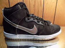 Nike Dunk High Premium SB SOMP NIGEL SYLVESTER BLACK SIL GUM 635535-001 DS 10.5
