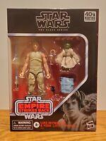 "NEW Star Wars The Black Series Luke Skywalker and Yoda (Jedi Training) 6"" D4"