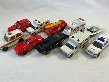 Emergency Vehicles Job Lot - Matchbox Superfast, Realtoy, & Various