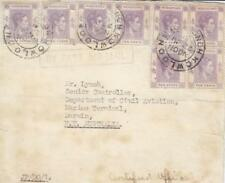 Cover: 1950, Air Mail, Kowtoon, Hk-Darwin Australia (1552)