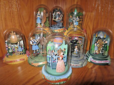 Wizard Of Oz Original 8 Limited Edition Music Box Domed Sculpture Franklin Mint