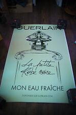 GUERLAIN LA PETITE ROBE NOIRE B  4x6 ft Shelter Original Vintage Fashion Poster