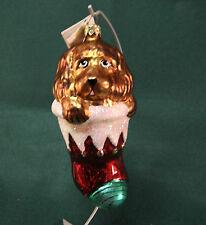 Retired Radko Puppy Love Ornament 6 inches Hand Painted w Box 1995 w tag 95SP11