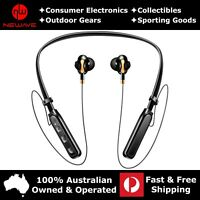 HiFi Stereo Quad Core Noise Reduction Sports Wireless Earphones X15 Medium Black
