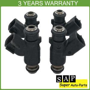 4X Fuel Injector For Chevrolet Aveo Aveo5 06-08 Pontiac Wave Wave5 96487553 1.6L