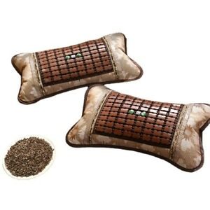Comfortable Cooling Bamboo with buckwheat Pillow Breathable Chinese Home Summer