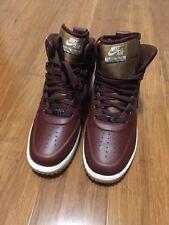 Nike Lunar Force 1 Sneakerboot 654481-200 NSW Casual Waterproof Brown/Black