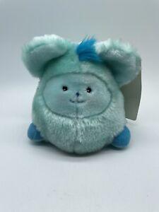 "Vtg Mattel ""Fuzzle"" Lion Unproduced Prototype Popples Plush stuffed toys Blue"