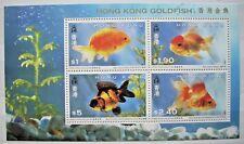 HONG KONG CHINA 1993 GOLDFISH MINIATURE SHEET MNH Scott 687a