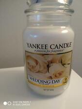 YANKEE CANDLE LARGE JAR 'WEDDING DAY' - NEW & UNUSED