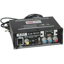 Verstärker Audio M-20 Stereo Hi-Fi Fm Radio 2 Kanäle