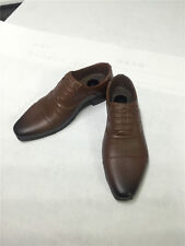 "1/6 Scale Men's Brown Leather Shoes Boots Fit For 12"" Male Figure Body Model"