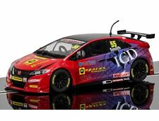 C3860 SCALEXTRIC SLOT AUTO DA RALLY RACING HONDA CIVIC TYPE R 2016 Jeff Smith Nuovo Regno Unito