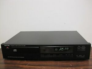 Rotel  RCD-855  Compact Disc Player. High performance Dual D/A Converter.