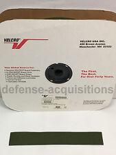 2 INCH VELCRO® Brand HOOK Fastener- Sew On Mil-Spec Military Tape CAMO GREEN