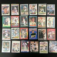 24 Card Mark McGwire Lot Oakland Athletics CC Silver Sig + More