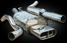 OPEL ASTRA G 4-PORTE anno 9/98-2/04 50-147kw Supersport Acciaio Inox Sistema di scarico