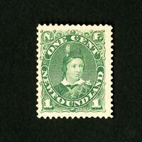 Newfoundland Stamps # 44 F-VF OG LH